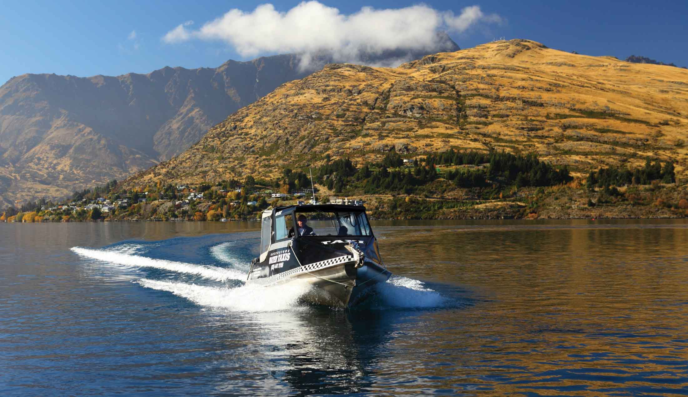 QUEENSTOWN WATER TAXIS PRIVATE CHARTERS